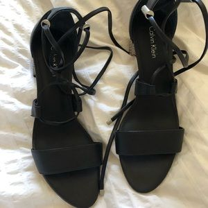 Calvin Klein heel sandals